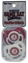 Bed Bath & Beyond University of Alabama 2-Pack Infant Pacifiers