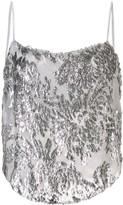 Fleur Du Mal Fil Coupe embellished camisole