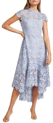 Forever New Chessie Open Back Lace Maxi Dress