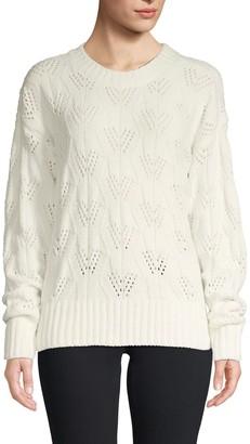 BCBGMAXAZRIA Ribbed Pullover Sweater
