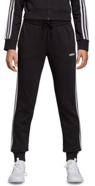 adidas Women's Essentials Fleece 3-Stripe Joggers