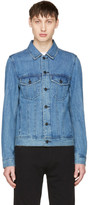 Diesel Indigo Denim D-Ashton-P Jacket