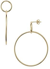 Jules Smith Designs Double Circle Hoop Earrings