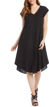 Karen Kane V-Neck Swing Dress