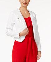 Thalia Sodi Textured Moto Jacket, Only at Macy's
