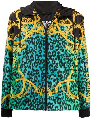 Versace Leo Chain print jacket