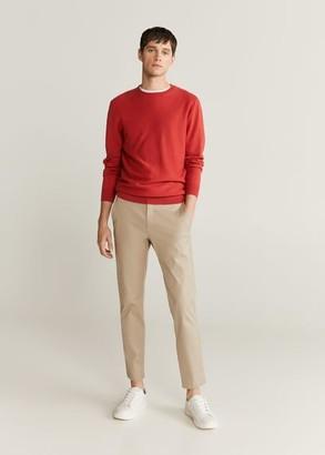 MANGO Cotton cashmere-blend sweater
