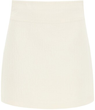 A.P.C. Wright Crease-Effect Skirt