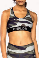 CHRLDR Camo Sports Bra