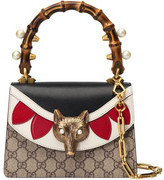 Gucci Broche GG Supreme mini bag