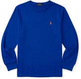 Ralph Lauren 8-20 Cotton Jersey Long-Sleeve Tee