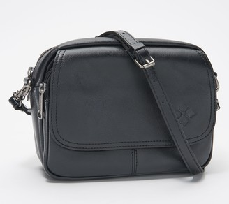 Patricia Nash Leather Flap Crossbody - Belleau