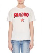 Sandro Sydney Embellished Tee