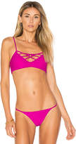 Issa de' mar Hina Top in Fuchsia. - size L (also in M,S,XS)