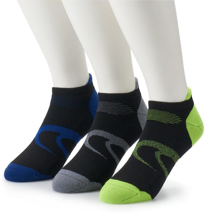 Men's 3 pack Intensity Single Tab Low Cut Socks