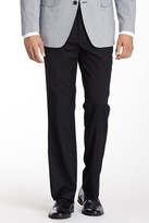 "Tommy Hilfiger Solid Black Wool Dress Pant - 30-34"" Inseam"