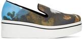 Stella McCartney Multicolor Horse Painting Binx Slip-On Sneakers
