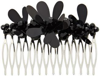Simone Rocha Silver-tone, Crystal And Resin Hair Slide