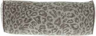 Jane Wilner Designs Bally Leopard Neck Roll Sham