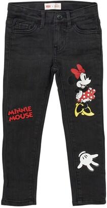 Levi's x Disney Minnie Mouse 710 Super Skinny Jeans
