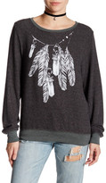 Wildfox Couture Amulet Chain Pullover