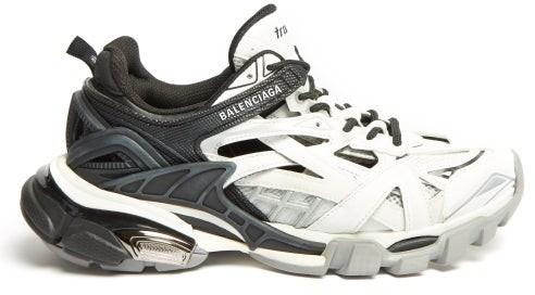 Balenciaga Track 2 Trainers - White Black