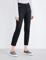 AG Jeans The Phoebe tapered high-rise jeans