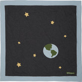 Amber Hagen Cashmere-Blend Space Blanket-DARK GREY