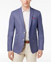 Kenneth Cole Reaction Men's Slim-Fit Blue and White Birdseye Sport Coat