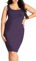 City Chic Plus Size Women's Body Con Dress