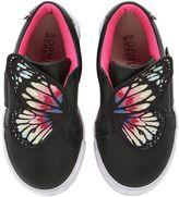Sophia Webster Bibi Mini Wings Leather Sneakers