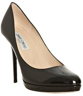 black patent leather 'Ailsa' pumps