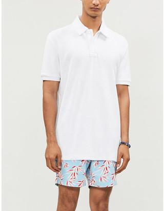 BLUEMINT Yam cotton-towelling polo shirt