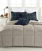 lauren ralph lauren color down alternative fullqueen comforter 100 cotton cover