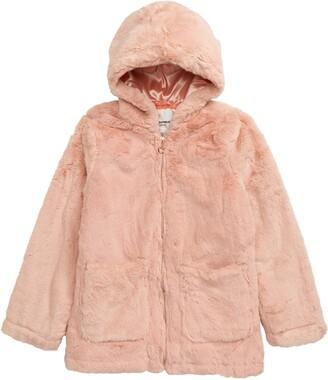 Urban Republic Hooded Faux Fur Jacket