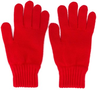 A.P.C. Knitted Gloves