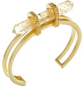 Vince Camuto Crackle Glass Chard Cuff Bracelet