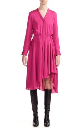 Maje Rushia High/Low Dress