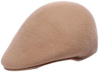 ACVIP Women's Wool Felt Beret Hat Peaked Flat Cap (Camel)
