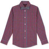 Tommy Hilfiger Plaid Shirt & Bowtie, Big Boys