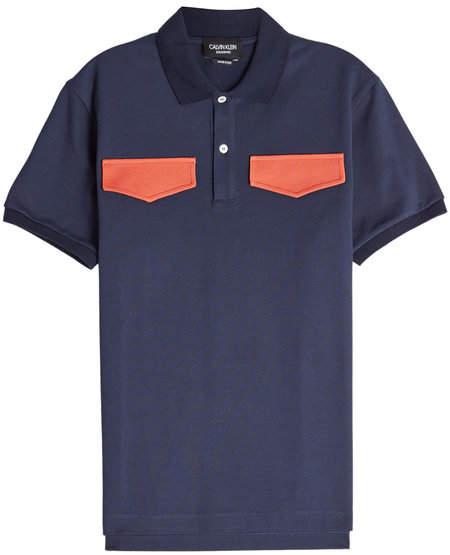 Calvin Klein Cotton Polo Shirt