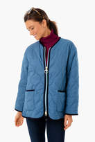Barbour Alexa Chung Steel Blue Darcy Quilt