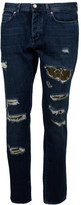 Paolo Pecora Classic Ripped Jeans