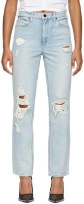 Alexander Wang Blue Cult Jeans