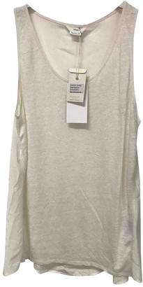 Charli Ecru Linen Top for Women