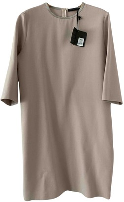 Fabiana Filippi Pink Wool Dress for Women