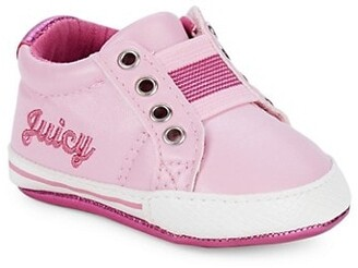Juicy Couture Baby Girl's Velcro Logo Sneakers