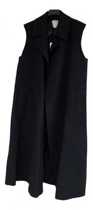 Maison Rabih Kayrouz Black Wool Coats