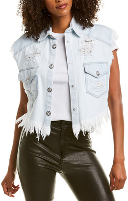 Versace Versus By Denim Vest Jacket