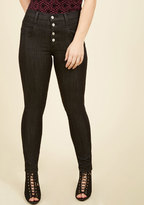 ModCloth Karaoke Songstress Jeans in Black in 3